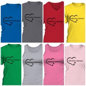 Charity-Shirt in verschiedenen Farben und Formen
